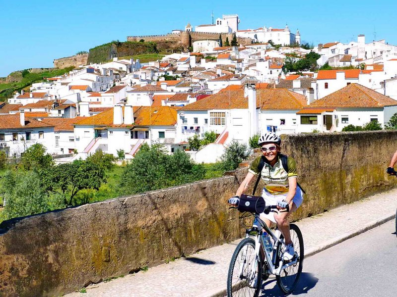 Marble, Wine and Heritage Supported - Portugal Bike Tours
