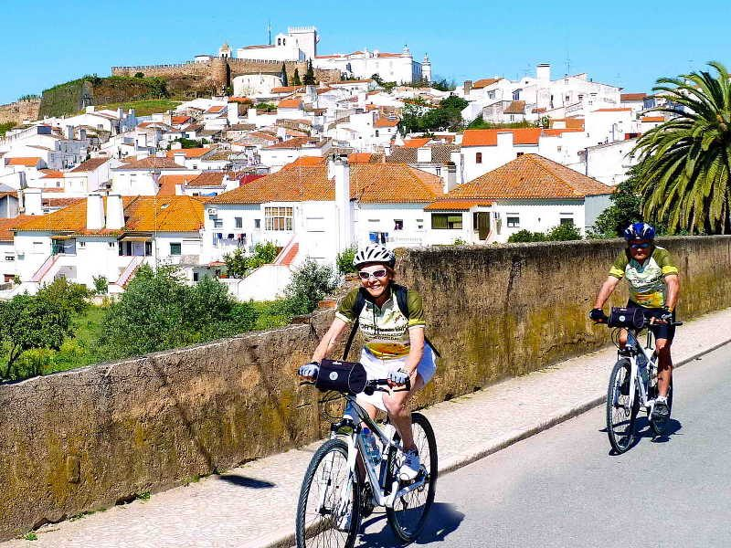 Marble, Wine and Heritage Supported - Portugal Bike