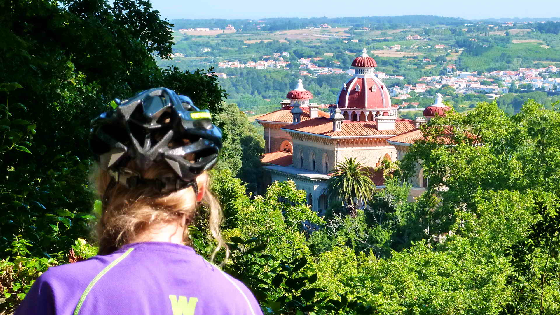 The National Park Sintra Cascais Guided Portugal Bike Tours - Portugal vegetation map