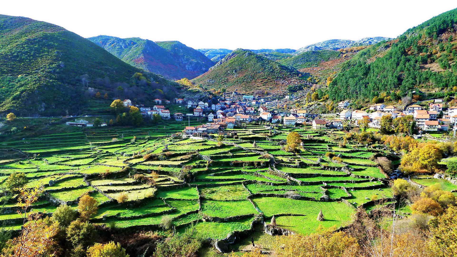the quiet villages on the mountains guided portugal bike tours