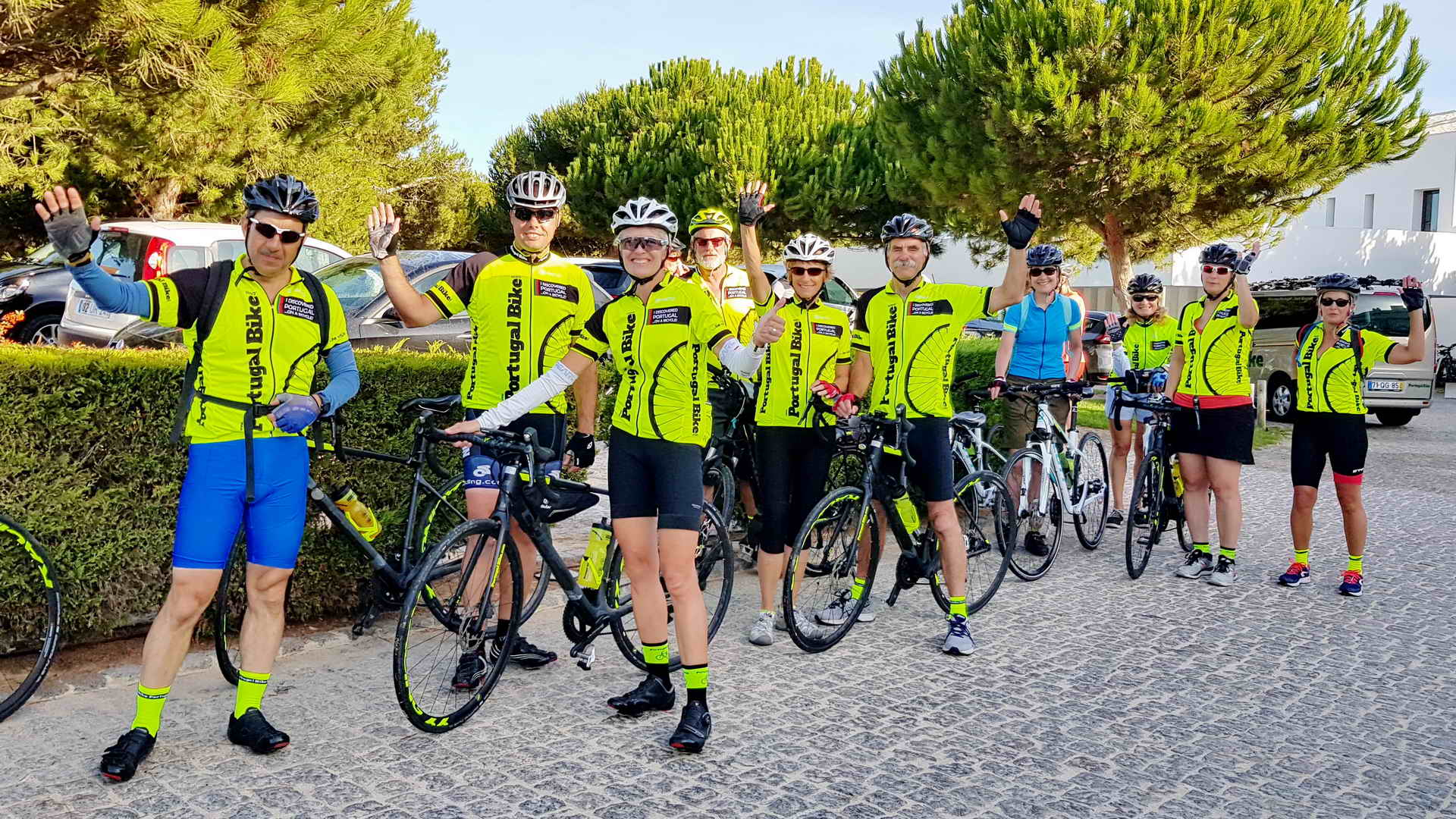 towards the algarve portugal bike tours
