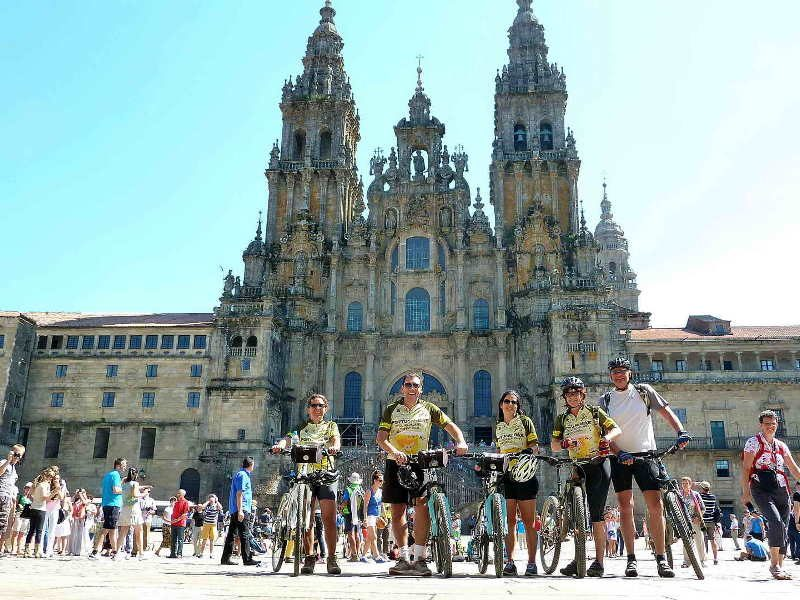 Camino de Santiago de Compostela Guided - Portugal Bike Tours, Cycling Portugal, Bike Tours Portugal, Biking in Portugal