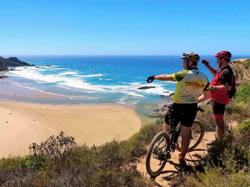 Cork Trees and Algarve Wild Coast Guided - Portugal Bike Tours, Cycling Portugal, Bike Tours Portugal, Biking in Portugal