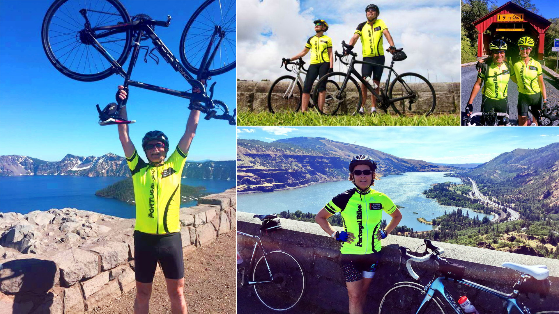 Cycling all over the world with Portugal Bike Tours Jerseys