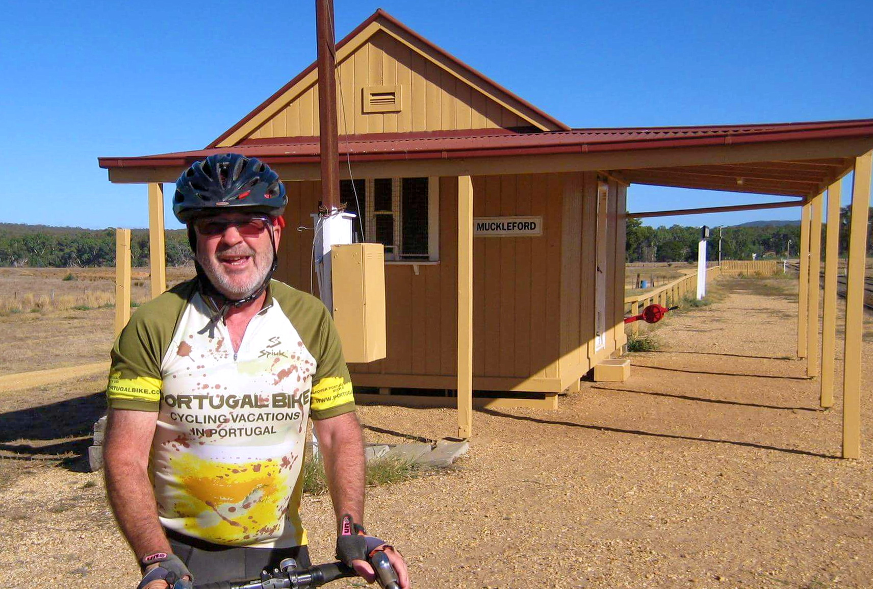 Portugal Bike Jersey in Muckleford Australia