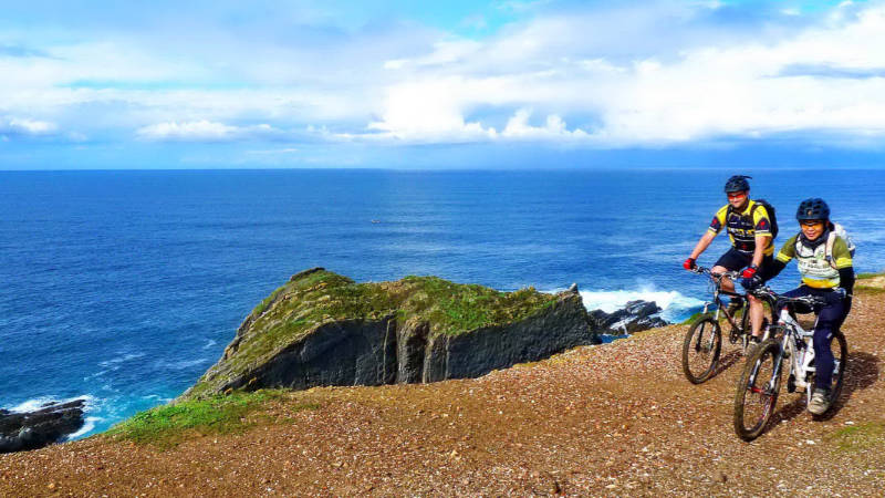 Best months to plan a bike tour in Portugal - Spring -The algarve wild coast