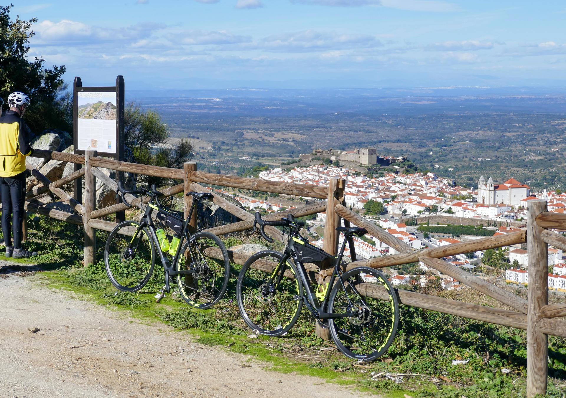 Cycling the Alentejo Wine Region Open Views
