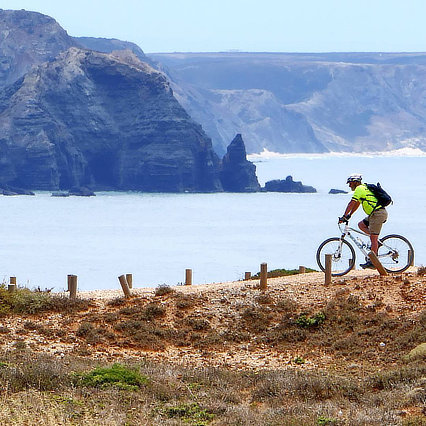 Cycling Holidays in Portugal Algarve Cliffs Instagram