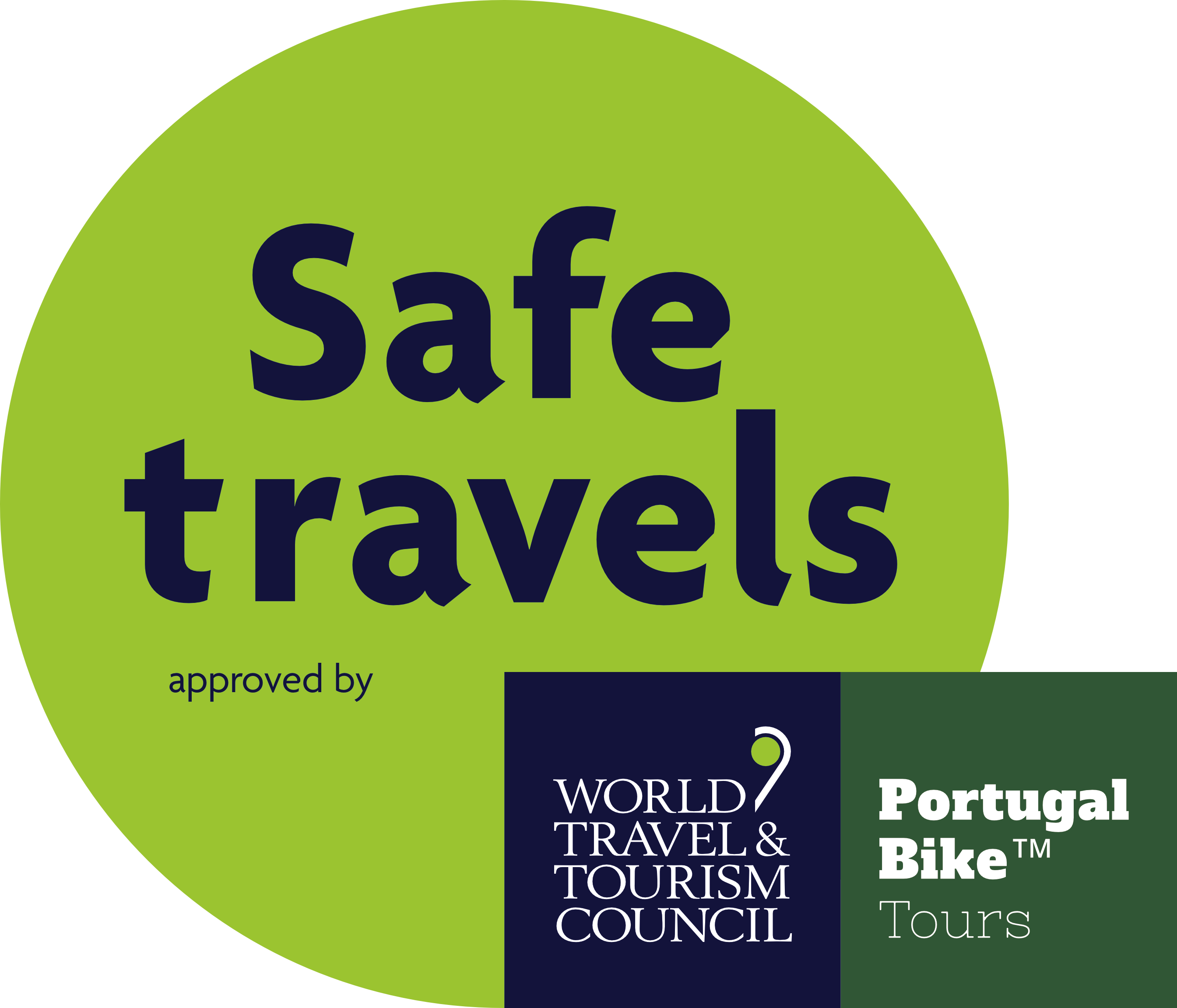 WTTC Safe Travels Stamp Portugal Bike Tours
